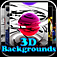 3D Backgrounds Icon