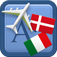 Traveller Dictionary and Phrasebook Danish – Italian Icon