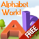 MyFirstEnglish-AlphabetWorld for iPhone FREE Icon