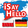 iSayHello Polish – German Icon