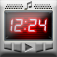 12,24 Alarm Clock Sleep Music