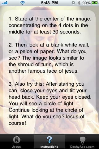 jesus illusion pic. Jesus Illusion - Have a
