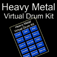 Heavy Metal Virtual Drum Kit Icon