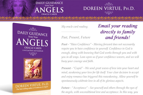 Daily Guidance from Your Angels Oracle Cards – Doreen Virtue, Ph.D. Screenshot