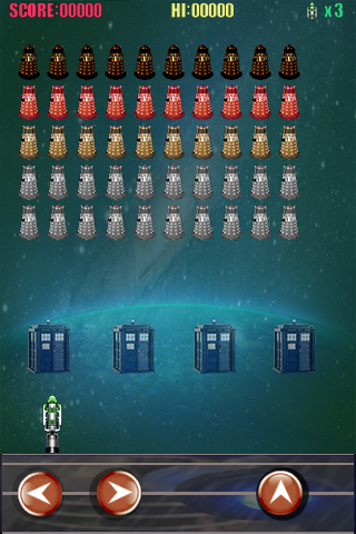Dalek Invasion. Screenshot