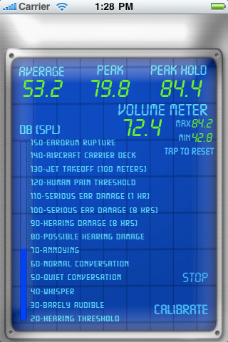 dB Meter Screenshot
