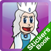 Snow Queen Stickers Book Icon
