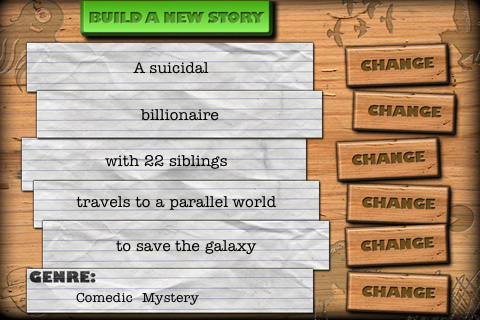 Story Builder! Screenshot