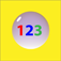Bubble 123 Icon