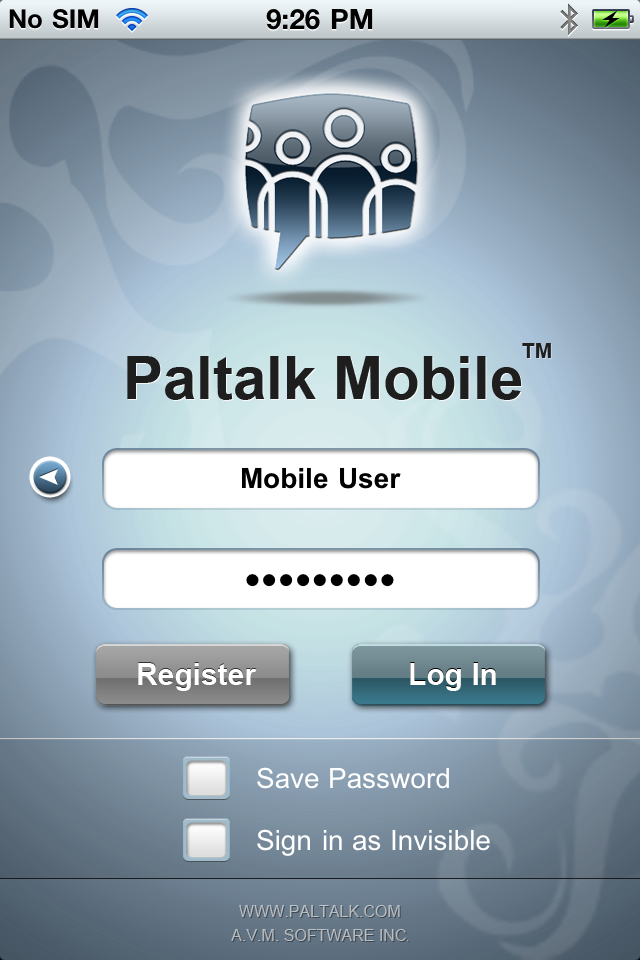 Image of Paltalk Mobile for iPhone
