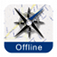 Luxembourg City Street Map Offline Icon