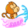 Pee Monkey Toilet Trainer Icon