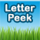 Letter Peek – ABC Flashcard Toddler Game Icon