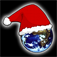 Merry Christmas and Happy New Year Icon