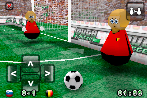 Touch Soccer 3D Lite Screenshot
