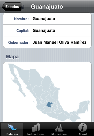 Estados Mexicanos Plus Screenshot