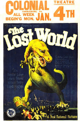 The Lost World (1925) Screenshot