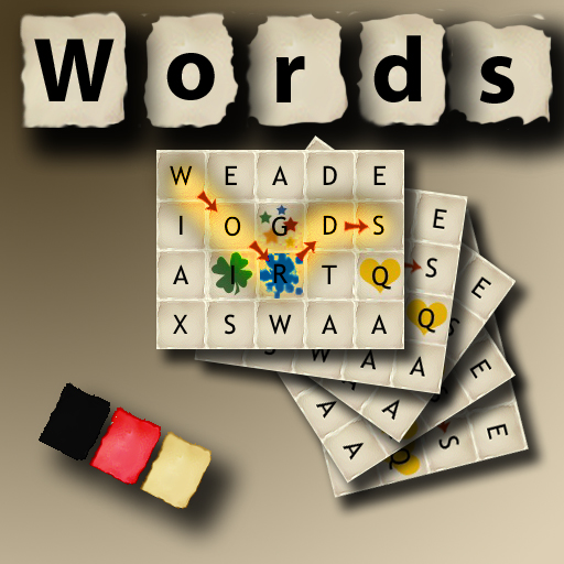 Words - German (The rotating word puzzle game)