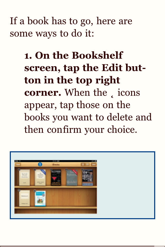 iBooks and ePeriodicals on the iPad: The Mini Missing Manual Screenshot