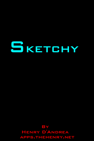 Sketchy for iPhone Screenshot