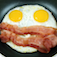 Talking Breakfast Icon