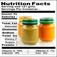 Baby Foods Nutrition Facts Icon
