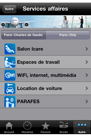 My Airport – Service officiel d'Aéroports de Paris Screenshot