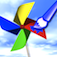 Paper Windmill Doodle 3D Icon