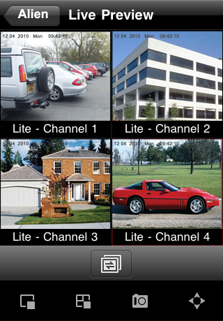 Image of Alien DVR for iPhone