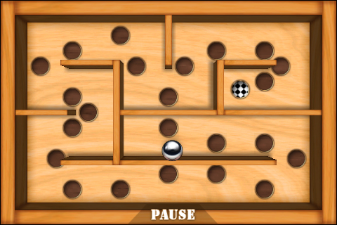 Wooden Labyrinth 3D Free Screenshot