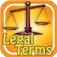 Dictionary of Legal and Law Terms Icon