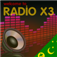X3 Cocos Islands Radio Icon