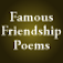Famous Friendship Poems by Feel Social Icon