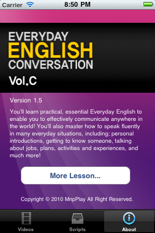 Everyday English Vol.C Screenshot