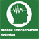 Mobile Concentration Icon