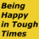 Being Happy In Tough Times Icon