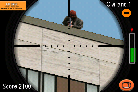 Arcade 3D Super Sniper 2 FREE Screenshot