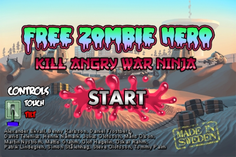 Free Zombie Hero – Kill Angry War Ninja Screenshot