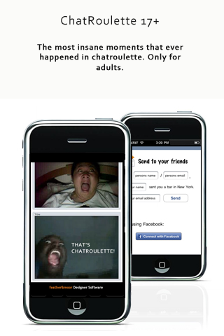 Chatroulette clones for adults