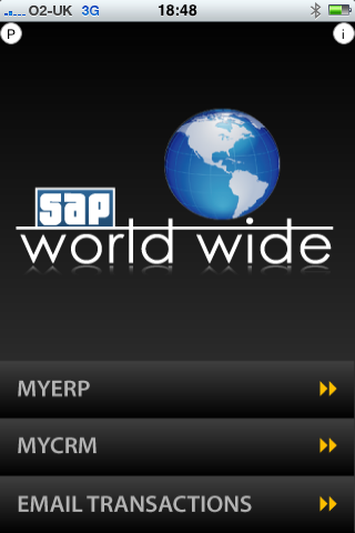 myERP myCRM Database Screenshot