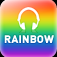Rainbow Radio Icon