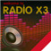 Radio dari Indonesia – X3 Indonesia Radio Icon