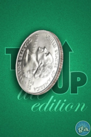 Toss-Up FREE – 3D Coin Flipping Screenshot