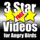 Free 3 Star Videos for Angry Birds Icon