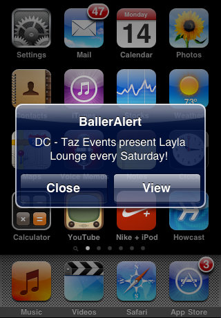 BallerAlert Screenshot
