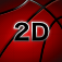 2D Basketball Icon