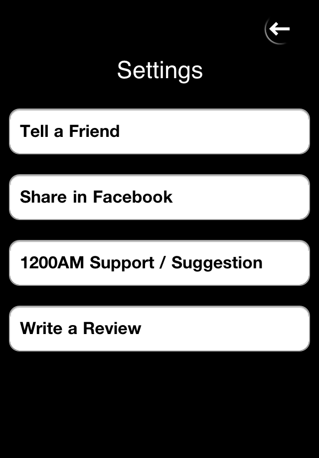 1200AM – Timer as U wish Screenshot