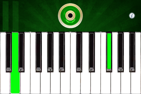 PipeKeysB – Uilleann Bagpipes Keyboard in B Screenshot