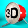 3D Drum Kit Icon