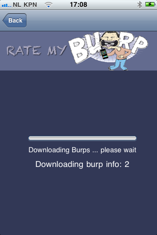 Rate My Burp Screenshot